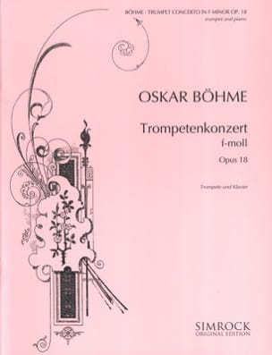 Oskar Böhme - Konzert F-Moll Opus 18 - Sheet Music - di-arezzo.co.uk