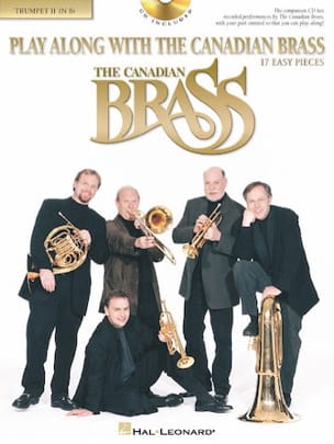 Play along with the Canadian Brass - 17 Easy pieces - Partition - di-arezzo.fr