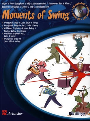 Rik Elings - Moments Of Swing - Sheet Music - di-arezzo.co.uk