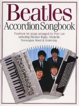 BEATLES - Beatles Accordion Songbook - Partition - di-arezzo.fr
