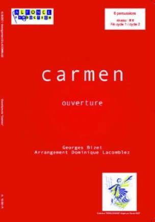BIZET - Ouverture de Carmen - Partition - di-arezzo.fr