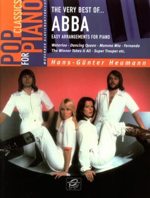 Very Best Of Abba - Easy Piano ABBA Partition laflutedepan