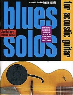 Blues Solos For Accoustic Guitar - Partition - laflutedepan.com