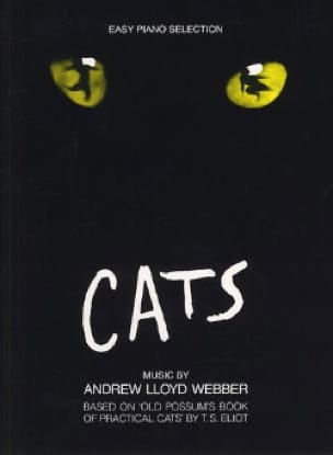 Cats - Easy Piano - Andrew Lloyd Webber - Partition - laflutedepan.com