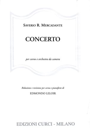 Saverio R. Mercadante - concierto - Partitura - di-arezzo.es