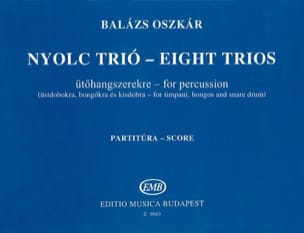 Eight Trios Score - Oszkar Balazs - Partition - laflutedepan.com