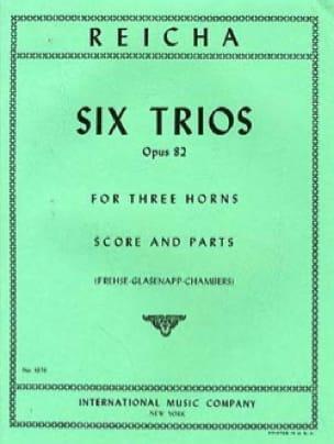 6 Trios Opus 82 - REICHA - Partition - Cor - laflutedepan.com
