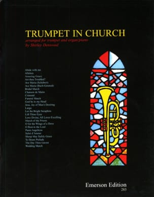 Trumpet In Church Partition Trompette - laflutedepan