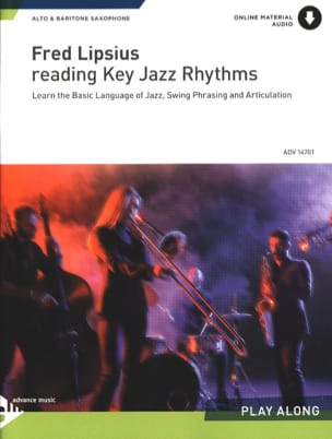 Fred Lipsius - Reading Key Jazz Rhythms - Sheet Music - di-arezzo.com