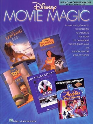 DISNEY - Disney Movie Magic Piano Accompaniment For Violin, Viola And Cello - Partition - di-arezzo.fr
