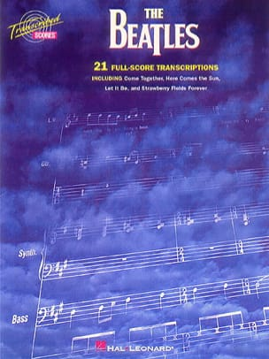 21 Full Scores Transcriptions BEATLES Partition laflutedepan
