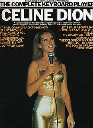 The Complete Keyboard Player Céline Dion Partition laflutedepan