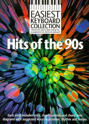 - Easiest Keyboard Collection - Hits Of The 90's - Partition - di-arezzo.fr