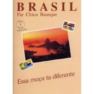 Chico Buarque - Brasil Volume 1 Essa Moça Ta Diferente - Sheet Music - di-arezzo.com