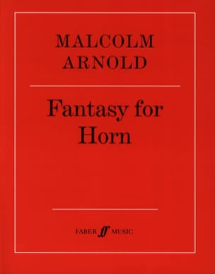 Malcolm Arnold - Fantasy For Horn Opus 88 - Partition - di-arezzo.fr