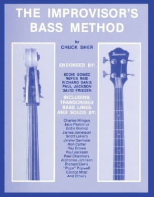 Chuck Sher - The Improvisor's Bass Method - Sheet Music - di-arezzo.co.uk