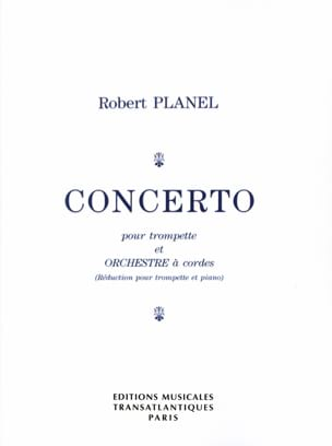 Robert Planel - Concerto - Sheet Music - di-arezzo.co.uk