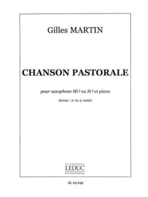 Gilles Martin - Pastoral song - Sheet Music - di-arezzo.co.uk