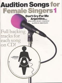 Audition Songs For Female Singers Volume 1 - Partition - di-arezzo.fr