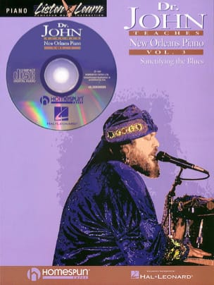 John Doctor - Doctor Jones Teaches New Orleans Piano Vol 3 - Partition - di-arezzo.fr