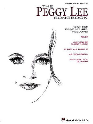 Peggy Lee - The Peggy Lee Songbook - Partition - di-arezzo.fr