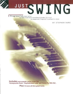 Stephen Duro - Just Swing - Sheet Music - di-arezzo.co.uk