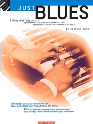 Just Blues Stephen Duro Partition Jazz - laflutedepan