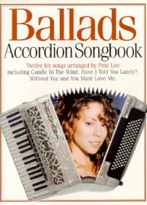 - Ballads Accordion Songbook - Partition - di-arezzo.fr