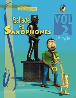 - Ballade En Saxophones Volume 2 - 1er Cycle - Partition - di-arezzo.fr
