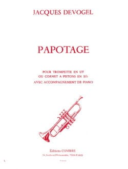 Jacques Devogel - Papotage - Partition - di-arezzo.fr