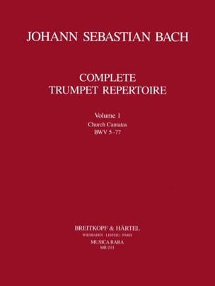 BACH - Volumen 1 completo del repertorio de trompeta - Partitura - di-arezzo.es