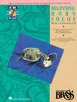 - The Canadian Brass Book Beginning Horn Solos - Sheet Music - di-arezzo.co.uk