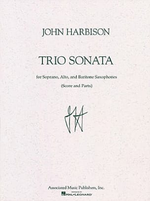 John Harbison - Trio Sonata - Partition - di-arezzo.fr