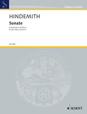 Paul Hindemith - Sonate - Partition - di-arezzo.fr