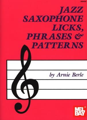 Annie Berle - Jazz Saxophone Licks, Phrases - Patrones - Partitura - di-arezzo.es