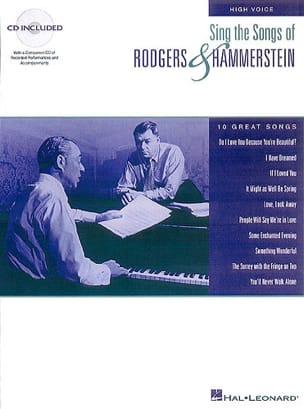 Rodgers & Hammerstein - Singe die Lieder von ... Hohe Stimme - Noten - di-arezzo.de