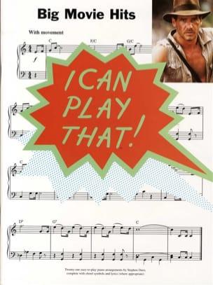- I Can Play That Big Movie Hits - Sheet Music - di-arezzo.com