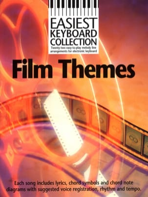 - Easiest Keyboard Collection - Film Themes - Partition - di-arezzo.fr