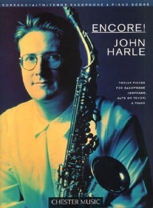 John Harle - Encore ! - 12 Pieces - Partition - di-arezzo.fr