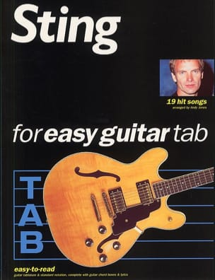 Sting - 19 Hits Songs Easy Guitar - Sheet Music - di-arezzo.co.uk
