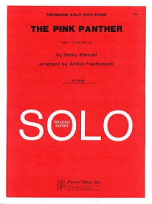Henry Mancini - The Pink Panther - Partition - di-arezzo.fr