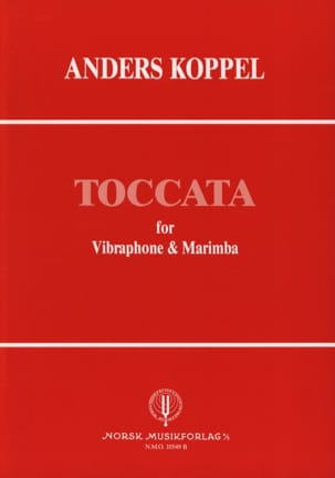 Anders Koppel - Toccata - Sheet Music - di-arezzo.co.uk