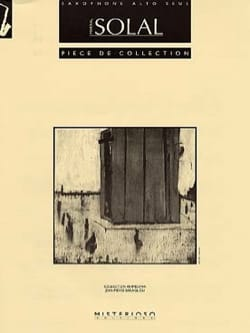 Martial Solal - Pièce de Collection - Partition - di-arezzo.fr