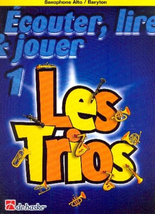 DE HASKE - Play Play and Play - The trios Volume 1 - 3 Saxophones - Sheet Music - di-arezzo.co.uk