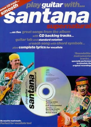 Play Guitar With... Santana Supernatural - laflutedepan.com