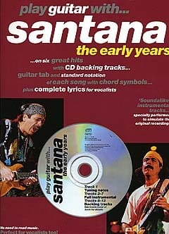 Play Guitar With... Santana The Early Years laflutedepan