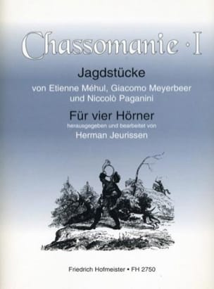 - Chassomanie Volume 1 - Sheet Music - di-arezzo.com