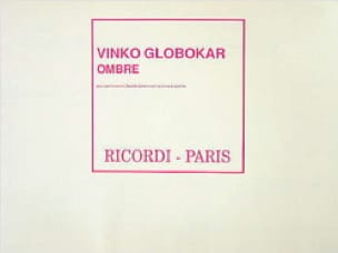 Vinko Globokar - Shadow - Sheet Music - di-arezzo.com