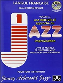 Jamey Aebersold - Volume 1 - Nouvelle Approche du Jazz Improvisation - Sheet Music - di-arezzo.com
