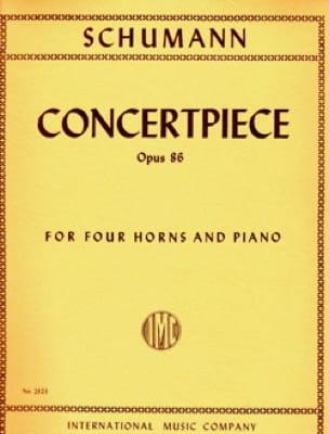 SCHUMANN - Concertpiece Opus 86 - Partition - di-arezzo.ch